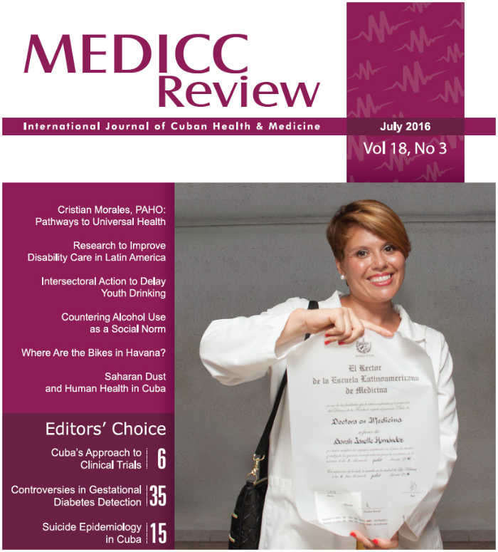 MEDICC Review Cover with Stroke