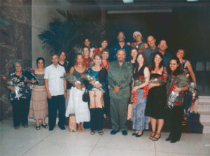 Fidel Castro with MEDICC group