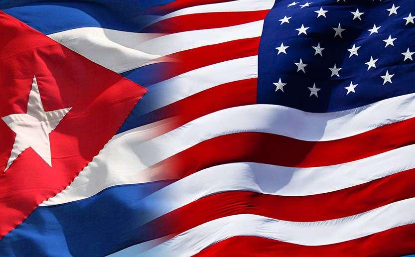 CUBA-USA-Flags