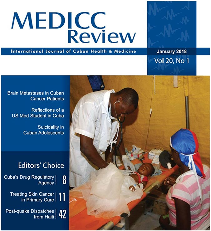 MEDICC Review January 2018 cover